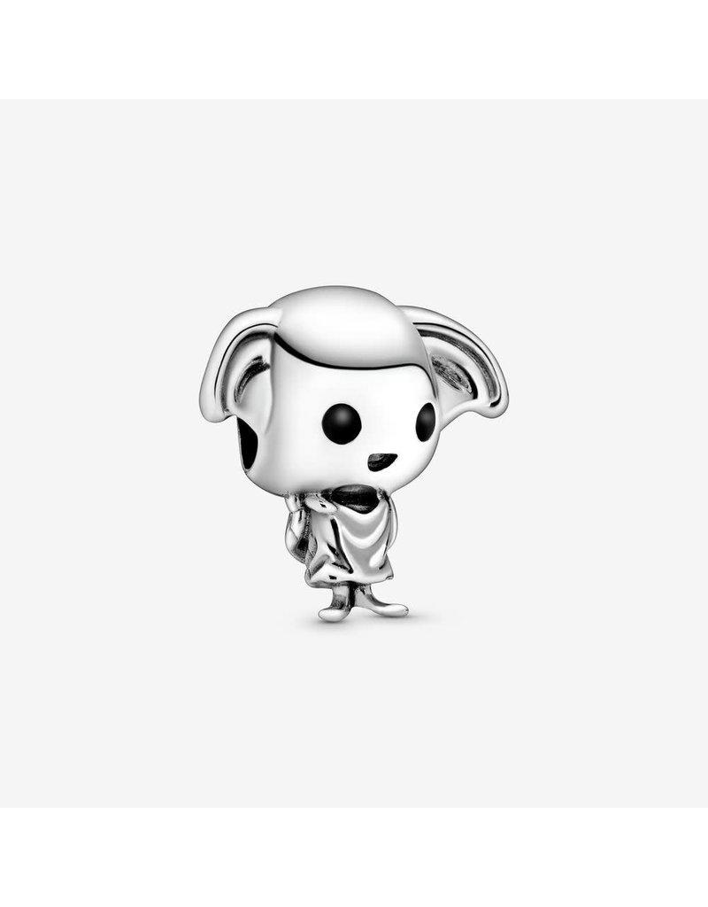 Pandora Jewelry Charm, Harry Potter, Dobby the House Elf, Black & White Enamel