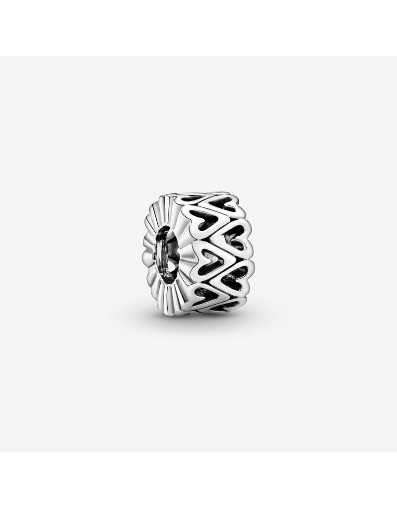 Pandora Jewelry Spacer Openwork Freehand Heart