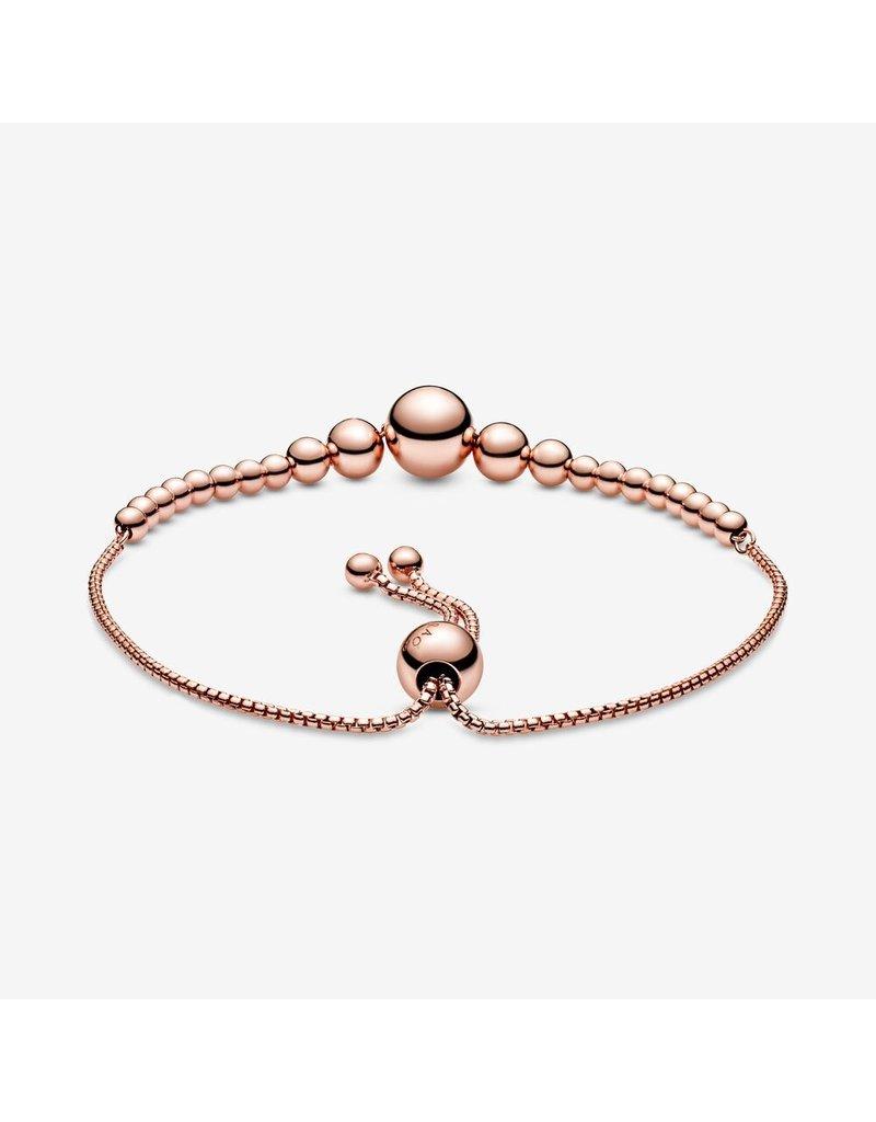 Pandora Jewelry Bracelet ROSE Sliding String of Beads