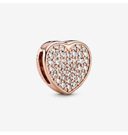 Pandora Jewelry Pave Heart Reflexions Charm