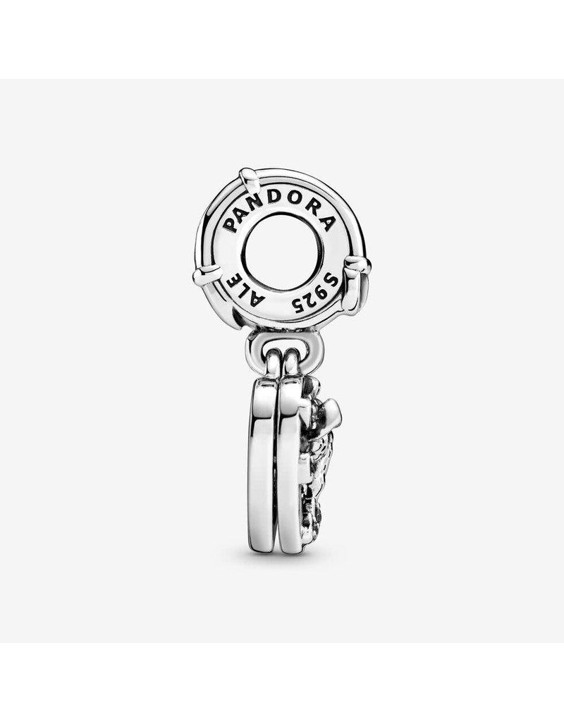Pandora Jewelry Dangle Disney, Lady & The Tramp Heart
