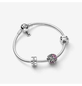 Pandora Jewelry Free Heart Bracelet Gift Set