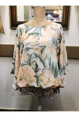 Cape Sleeve Blouse Tank Top Lining