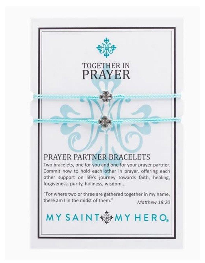 My Saint My Hero Prayer Partner Bracelet