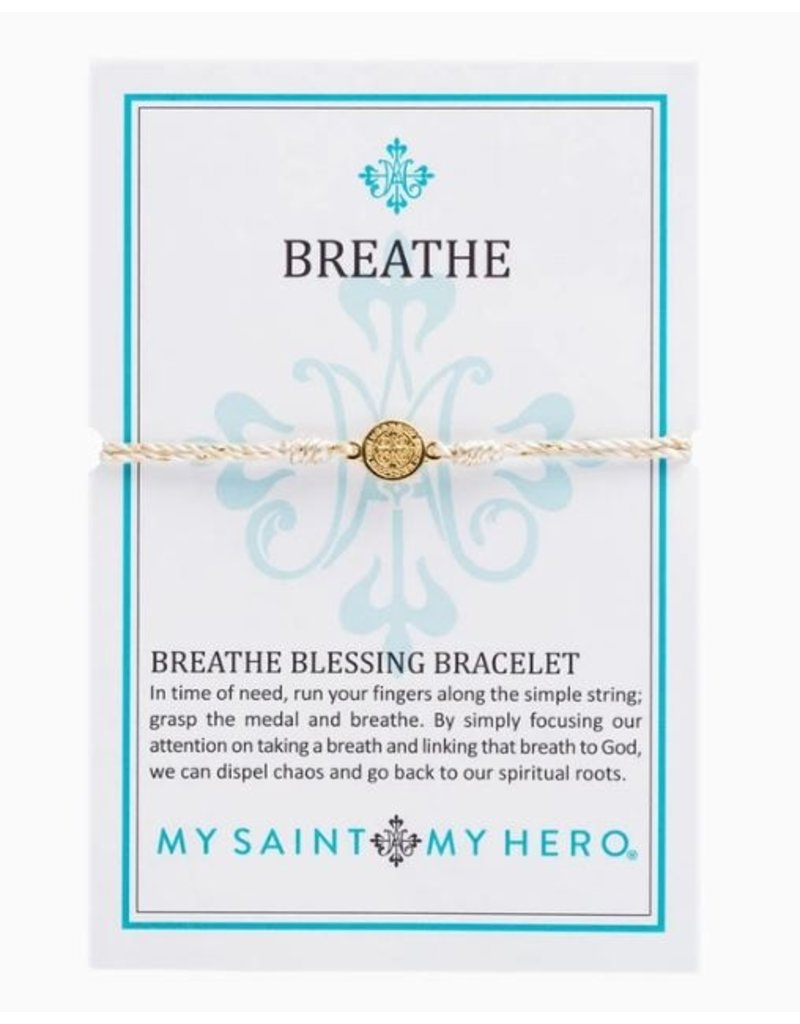 My Saint My Hero Breathe Blessing Bracelet
