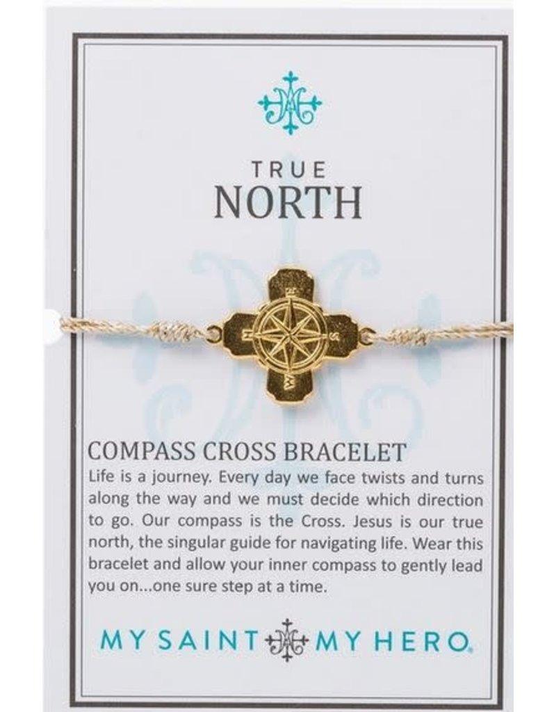 My Saint My Hero True North Bracelet - Met Gold/Gold