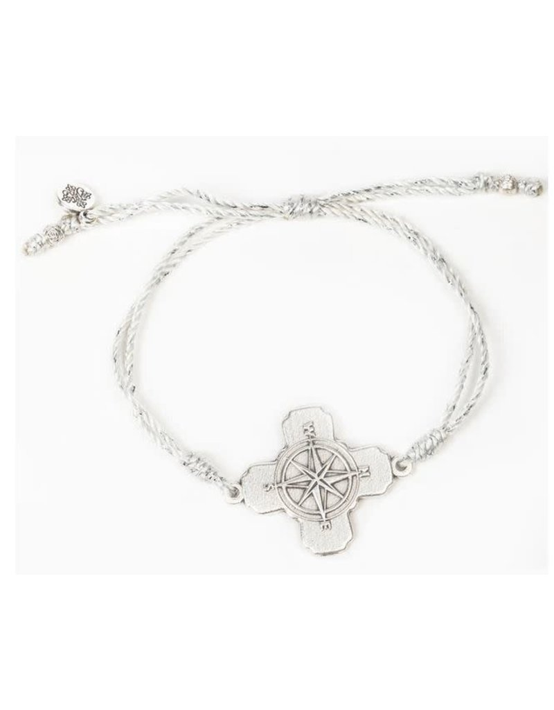 My Saint My Hero True North Bracelet - Met Silver/Silver