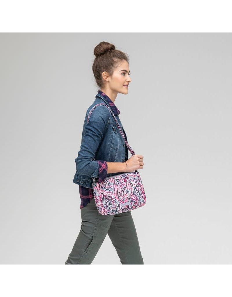 Vera Bradley Carson Mini Shoulder Bag Holland Garden