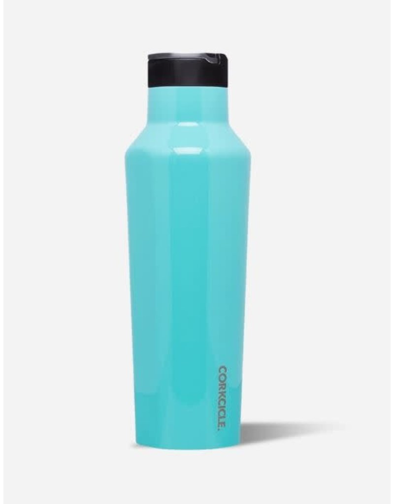 Corkcicle Sport Canteen 20oz Gloss Turquoise