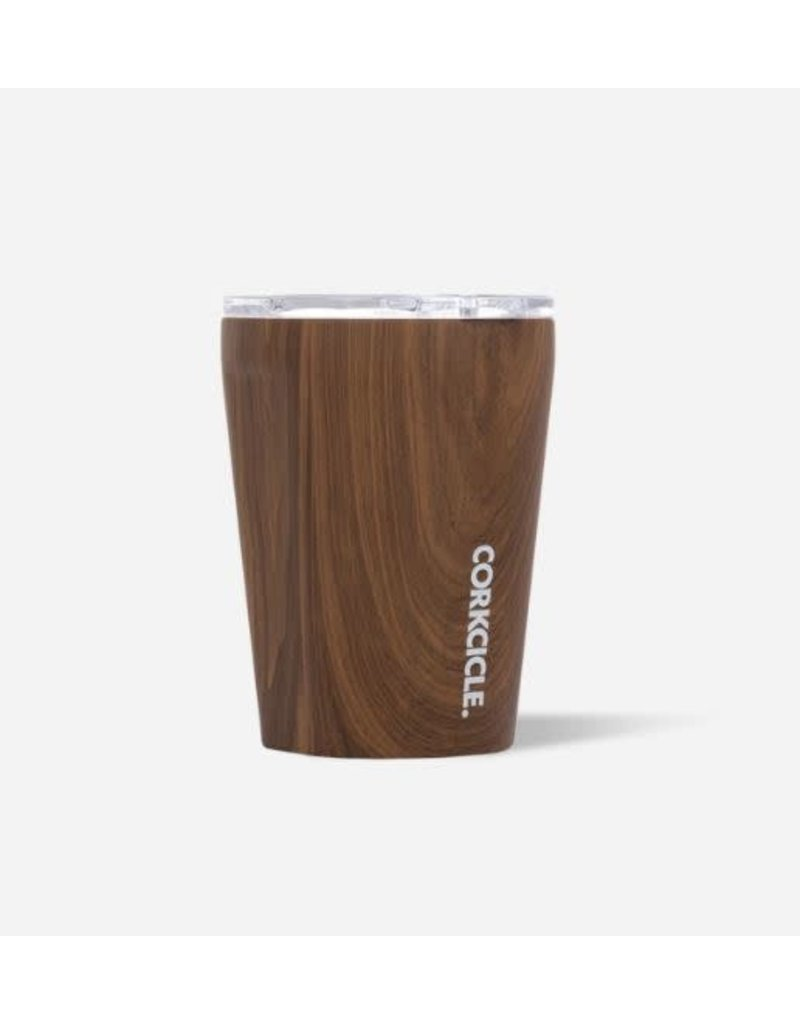 Corkcicle Tumbler 12oz Walnut Wood