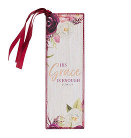 Christian Art Gifts Page Marker His Grace Is Enough