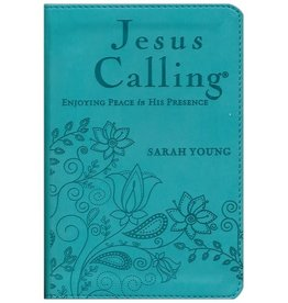Thomas Nelson Jesus Calling Deluxe Teal Cover