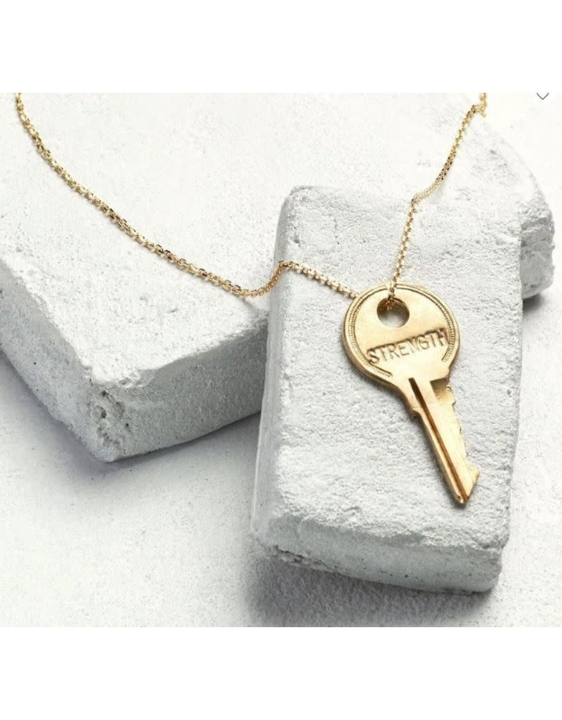 The Giving Keys Pay It Forward Dainty Key Necklace