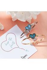 Luca & Danni Rosary Heart Bracelet