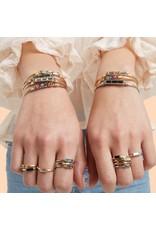 Luca & Danni Mini Hudson Bracelet Crystal