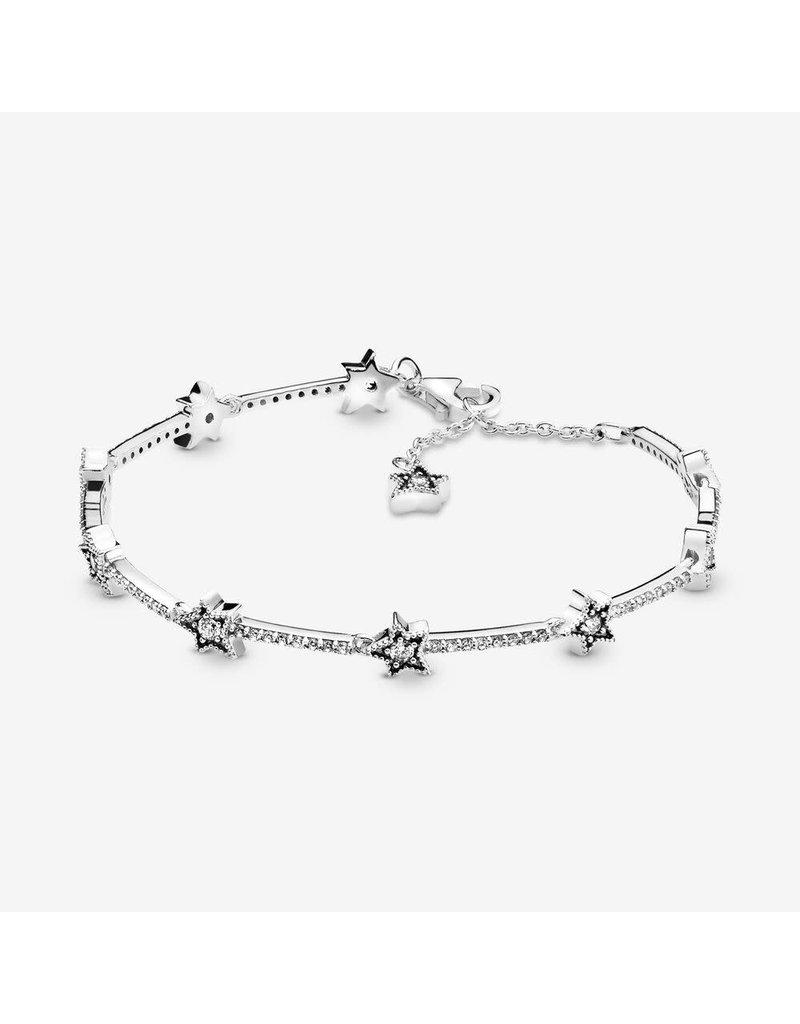 Pandora Jewelry Celestial Stars Bracelet, Clear CZ