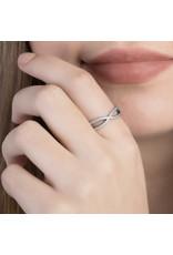 Pandora Jewelry Ring Crossing Paths RETIRED