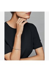 Pandora Jewelry Tiara Wishbone Open Bangle, Clear CZ