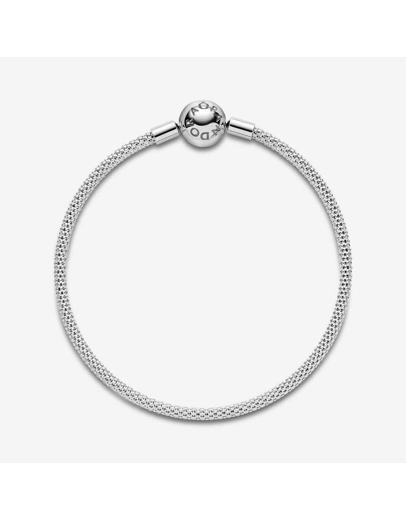 Pandora Jewelry Sterling Silver Mesh Bracelet