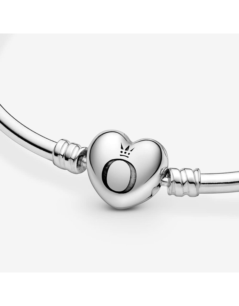 Pandora Jewelry Pandora Logo Heart Bangle