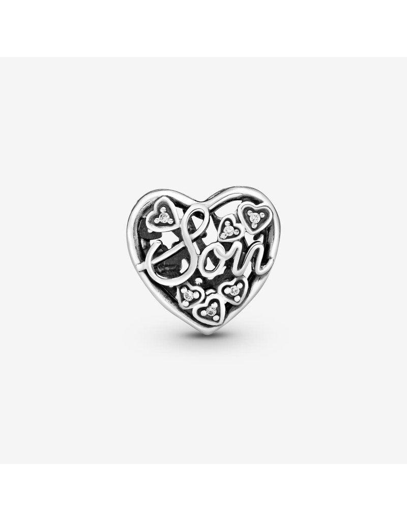 Pandora Jewelry Mother & Son Bond Charm, Clear CZ