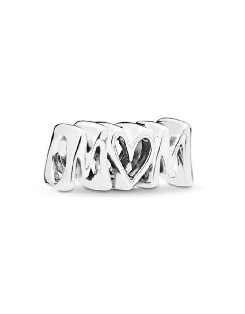 Pandora Jewelry Mom Script Charm