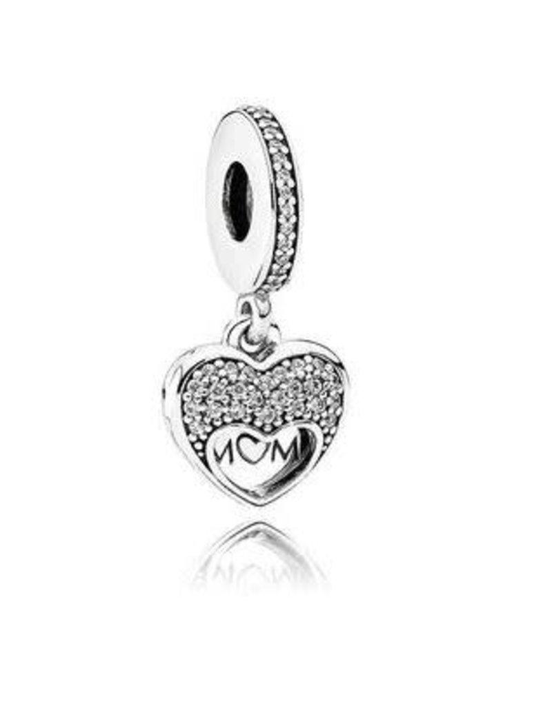 Pandora Jewelry I Love My MOM Dangle Charm