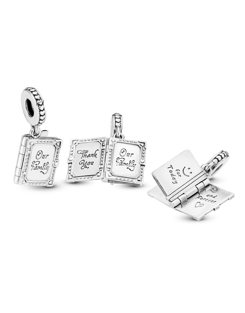 Pandora Jewelry Family Book Dangle Charm