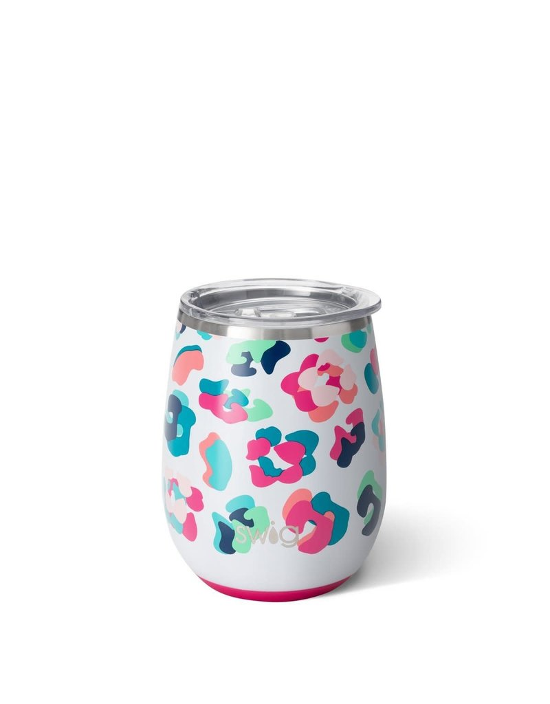 14oz Stemless Cup Party Animal