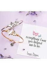 Luca & Danni Crystal Butterflies Bracelet