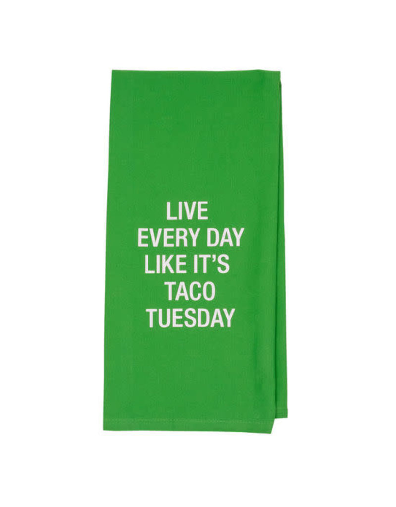 Taco Tuesday Tea Towel
