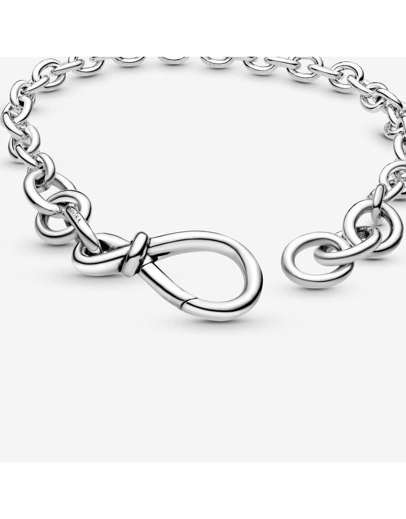 Pandora Jewelry Chunky Infinity Knot Bracelet