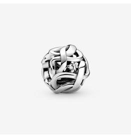 Pandora Jewelry Openwork Woven Infinity Charm