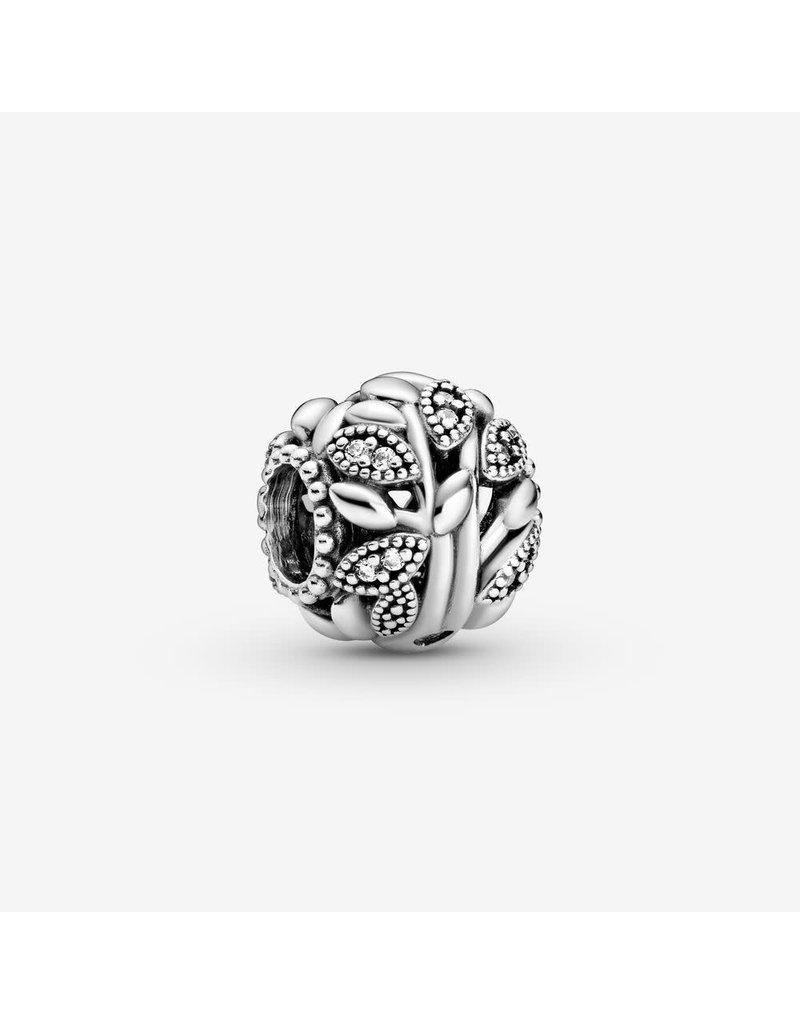 Pandora Jewelry Openwork Family Tree Charm, Clear CZ