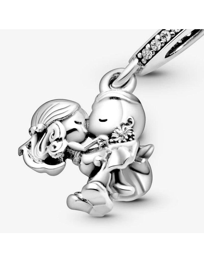 Pandora Jewelry Married Couple Dangle Charm, Clear CZ