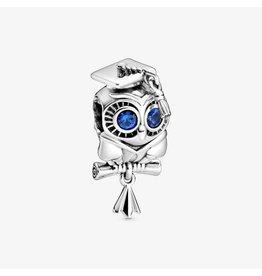 Pandora Jewelry Wise Owl Graduation Charm