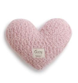 Pink Giving Heart Pillow