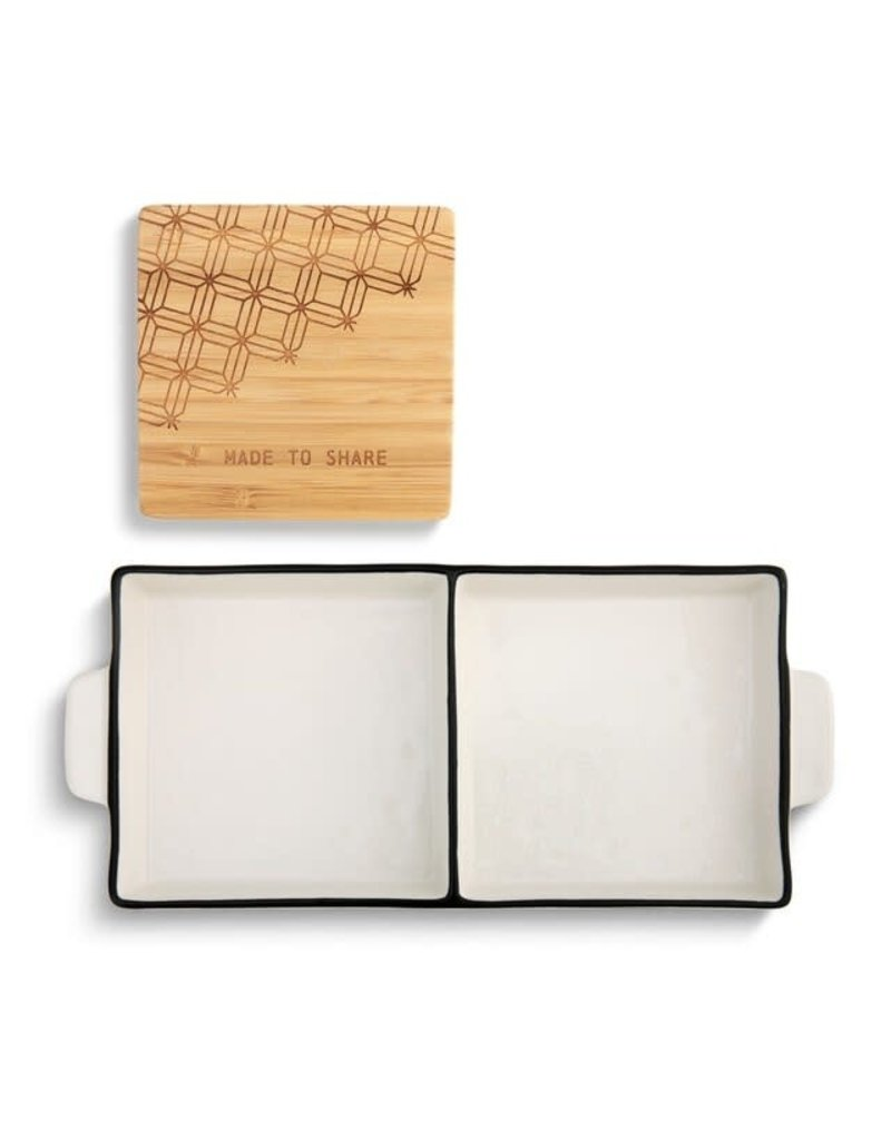 Made To Share 2-in-1 Serving Dish