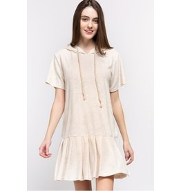 Short Sleeve Terry Cloth Dress