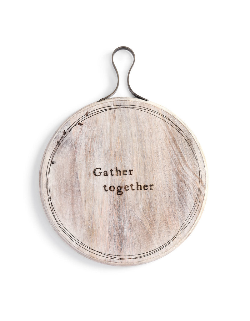 Gather Together Wood Serving Board