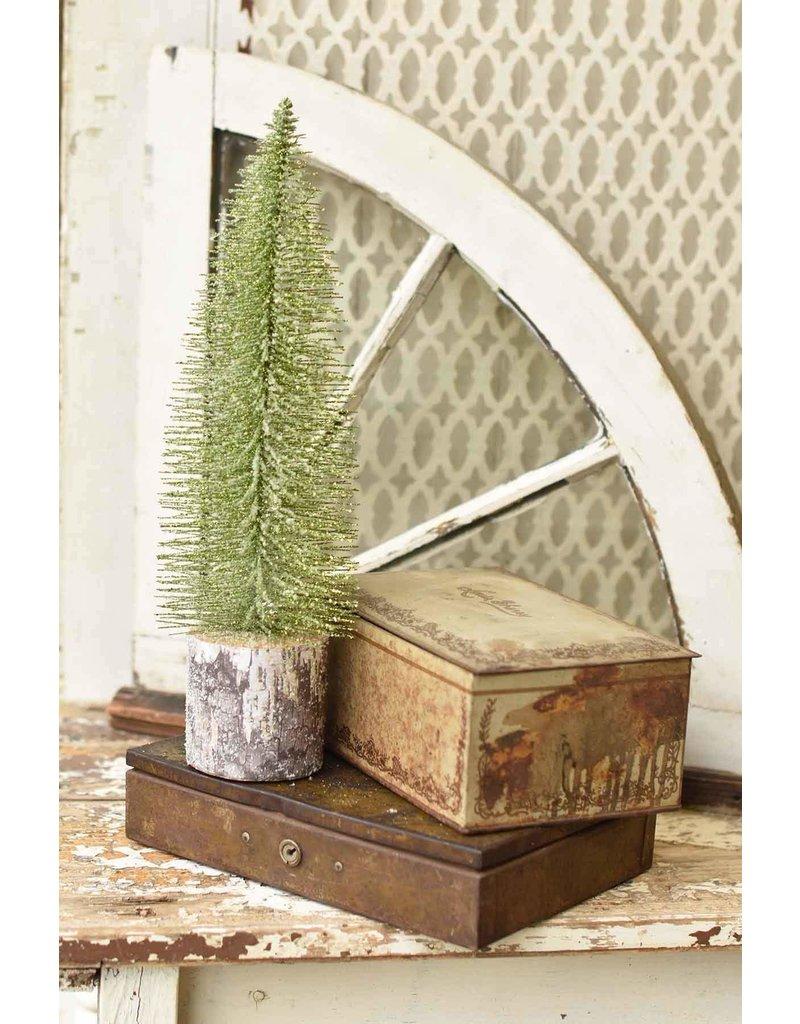 "15"" Iced Foxtail Pine Tree"