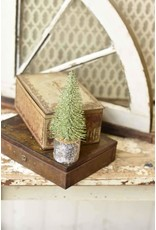 "8"" Iced Foxtail Pine Tree"