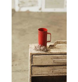 "6"" Woodbury Container Red"