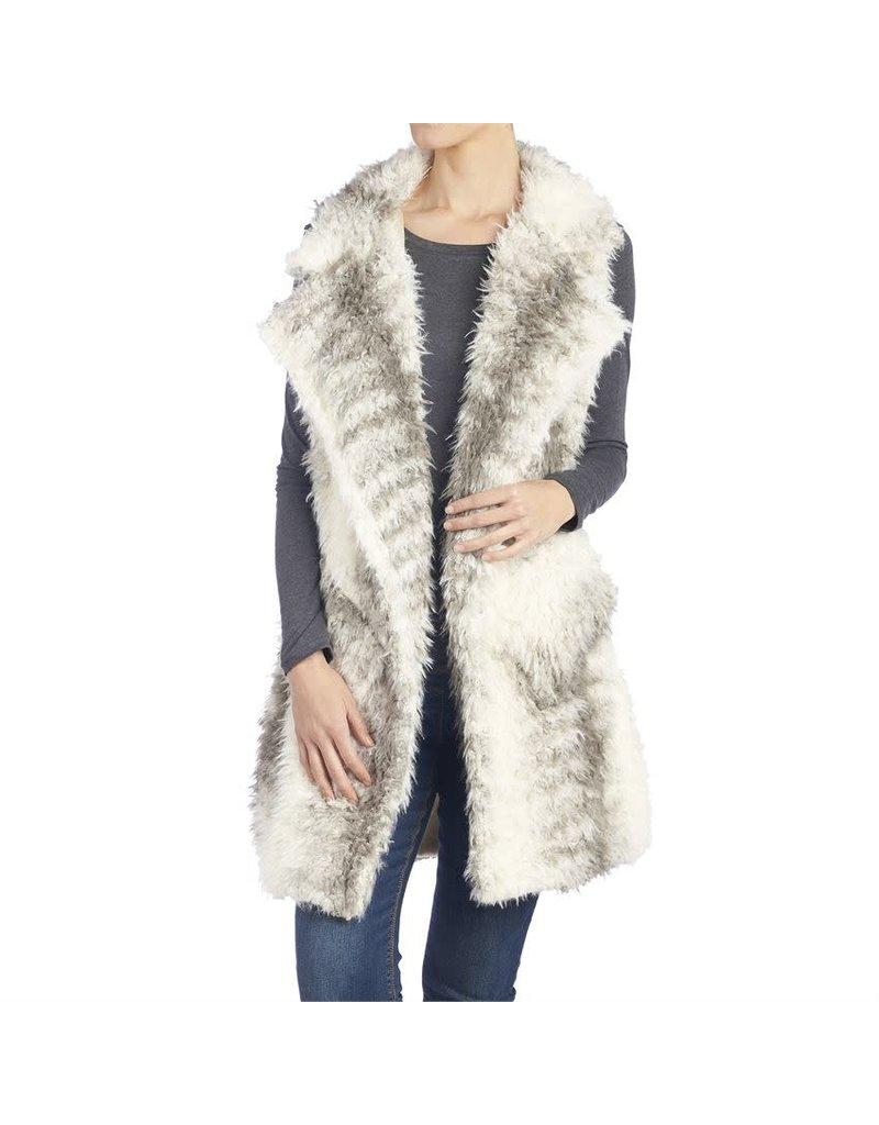 Accalia Faux Fur Vest