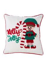 Holly Jolly Elf Pillow