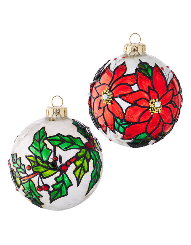 "4"" Glass Ornament Ball"