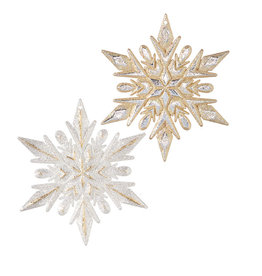 "4.5"" Snowflake Ornament"