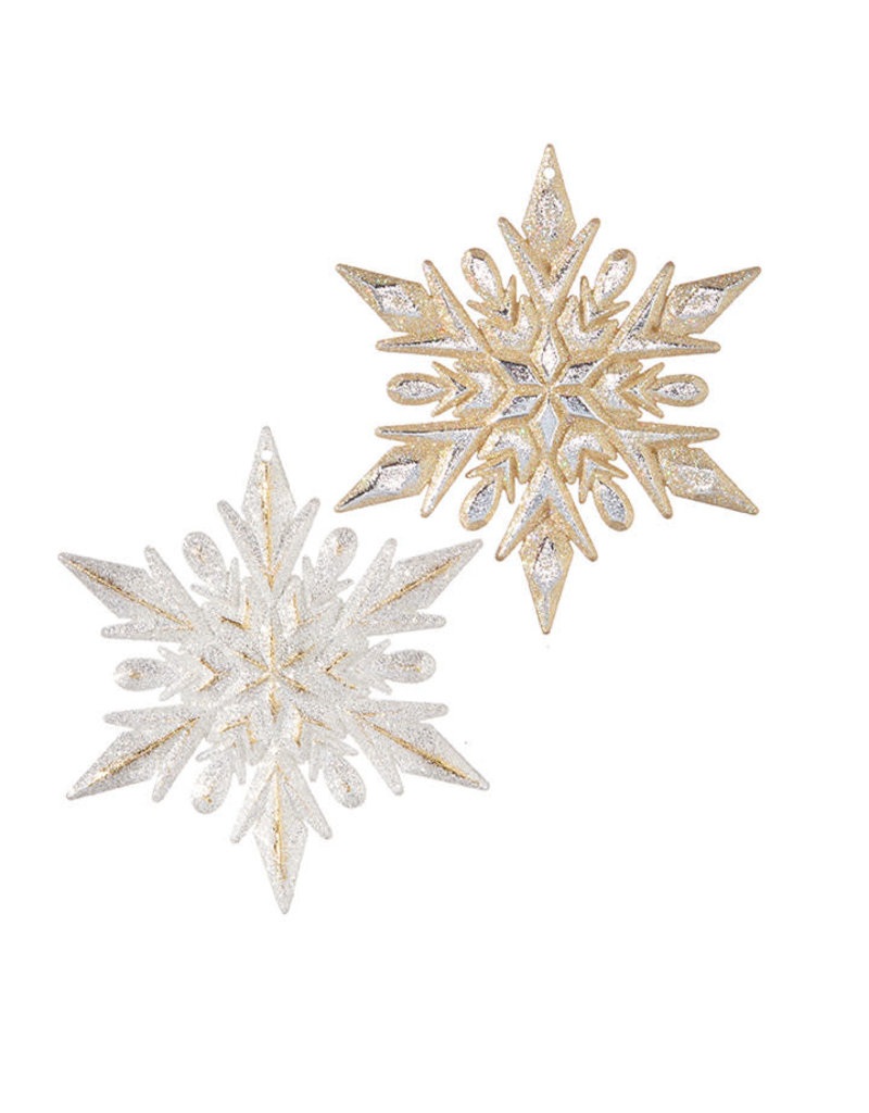 "4.5"" Snowflake Ornament"