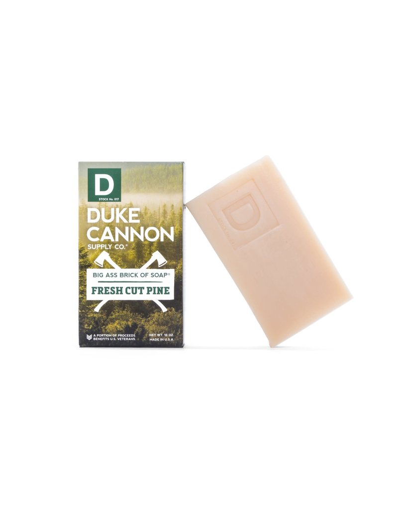 Duke Cannon Supply Brick of Soap: Fresh Cut Pine