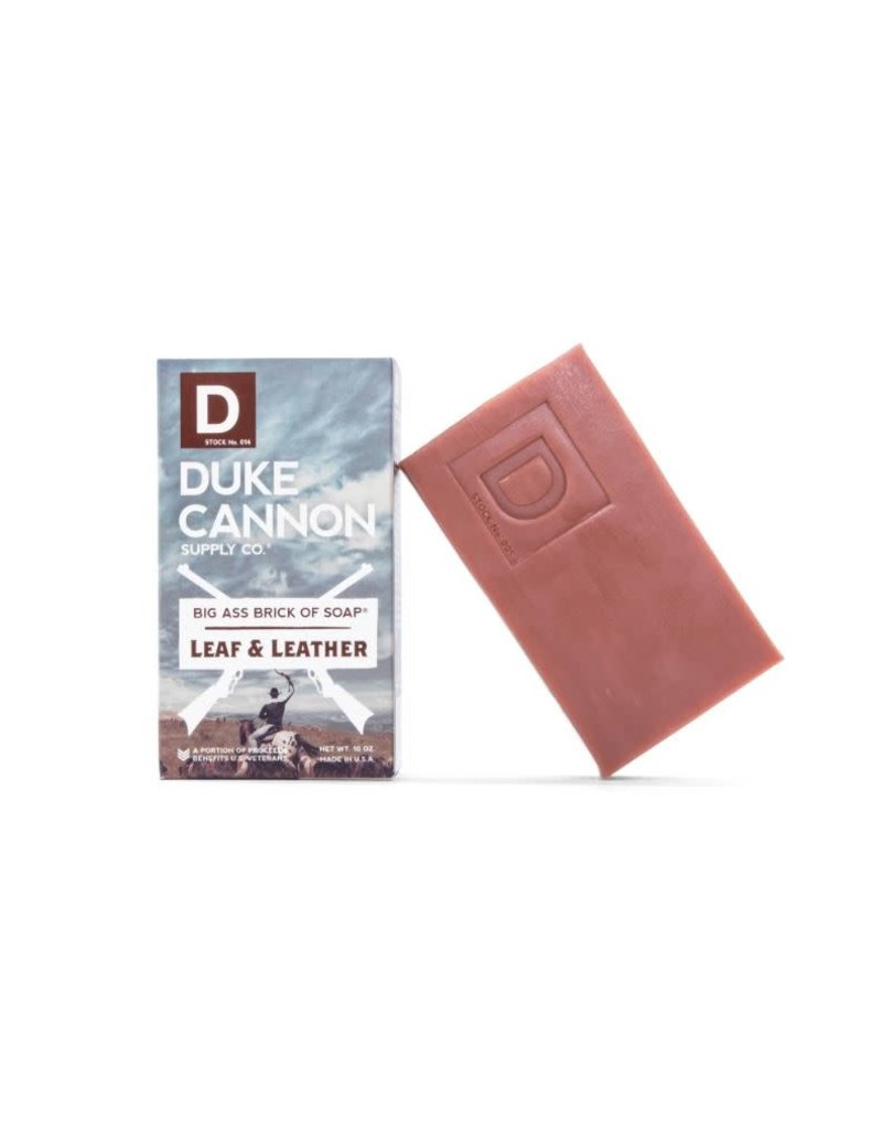 Duke Cannon Supply Brick Of Soap: Leaf and Leather